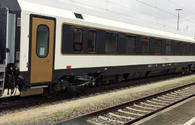 Passenger train purchased for BTK delivered to Turkey
