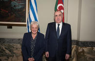 "Mammadyarov holds meetings at Uruguayan Parliament <span class=""color_red"">[PHOTO]</span>"