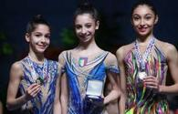 Azerbaijani gymnast Arzu Jalilova wins bronze medals at tournament in France