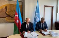 "Azerbaijan, UNESCO sign agreement <span class=""color_red"">[PHOTO]</span>"