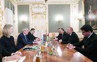 "President Ilham Aliyev meets with Austrian Federal President Alexander Van der Bellen <span class=""color_red"">[PHOTO]</span>"