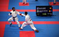Azerbaijani karate fighter reaches EKF Senior Championships final