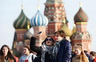 Which Russian cities attract most Azerbaijani tourists?