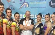 Azerbaijani gymnasts perform at World Cup in Portugal