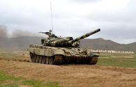 "Azerbaijani army names best tank company <span class=""color_red"">[PHOTO/VIDEO]</span>"