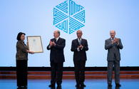 "Azerbaijani composer awarded in Portugal <span class=""color_red"">[PHOTO]</span>"