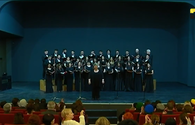"""Azerbaijan State Choir successfully performs at International Festival <span class=""""color_red"""">[PHOTO]</span>"""