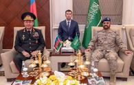 Azerbaijan and Saudi Arabia discuss prospects for development of relations between armies of two countries