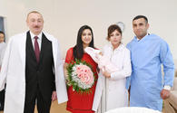 "President, First Lady meet parents of Azerbaijan's 10 millionth citizen <span class=""color_red"">[UPDATE]</span>"