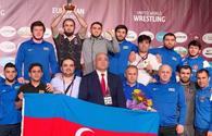 Azerbaijani team becomes third in European Wrestling Championships