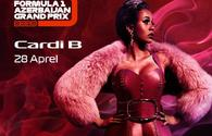 Cardi B to close out  F1 concert program