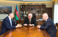 "AZAL president meets mayor of Batumi <span class=""color_red"">[PHOTO]</span>"