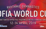 Azerbaijani gymnasts perform at Rhythmic Gymnastics World Cup in Bulgaria