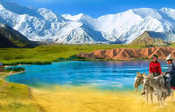 Kyrgyzstan hosts over 3 million foreign tourists