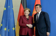 "Kyrgyz President meets German Chancellor <span class=""color_red"">[PHOTO]</span>"