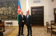 Azerbaijani FM holds meeting with Marshal of Poland's Sejm