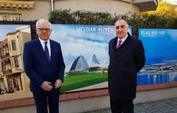 "Elmar Mammadyarov takes part in opening of ADR memorial plaque in Poland <span class=""color_red"">[PHOTO]</span>"