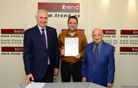 "Staff members of Trend news agency awarded for positive coverage of 100th anniversary of Azerbaijani Security Bodies <span class=""color_red"">[PHOTO]</span>"