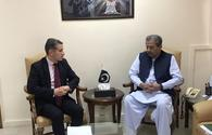 Minister: Pakistan to continue developing friendly relations with Azerbaijan