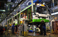 "Groundbreaking ceremony held for Azerbaijan-Iran bus production plant <span class=""color_red"">[PHOTO]</span>"