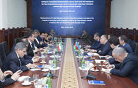 Azerbaijan's State Customs Committee Chairman meets with Iranian delegation