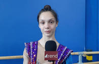 Performing in National Gymnastics Arena in Baku is very comfortable - Israeli gymnast