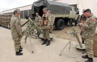 "Military equipment to be used in Azerbaijan-Turkey joint drills reviewed <span class=""color_red"">[PHOTO/VIDEO]</span>"