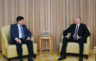 "IIlham Aliyev: Azerbaijan is interested in major Chinese companies' actively doing business in country <span class=""color_red"">[PHOTO]</span>"