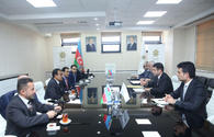 Meeting held between Saudi delegation and Azerbaijan's Agency for SMEs Development