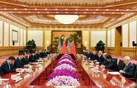 "Azerbaijani president meets with chairman of People's Republic of China in Beijing <span class=""color_red"">[PHOTO]</span>"
