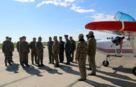 "New command post of Azerbaijan's Air Force Base opens <span class=""color_red"">[PHOTO/VIDEO]</span>"