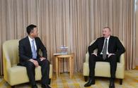 "President Ilham Aliyev meets president of China National Electric Engineering <span class=""color_red"">[UPDATE]</span>"