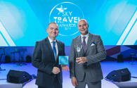 "Heydar Aliyev International Airport named best airport according to Sky Travel Awards <span class=""color_red"">[PHOTO]</span>"