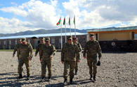 "Azerbaijani Defense Ministry officials visit military facilities under construction <span class=""color_red"">[PHOTO/VIDEO]</span>"