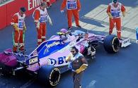 """Accident at Formula 1 in Baku – car crashes into barrier <span class=""""color_red"""">[PHOTO]</span>"""