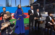 "Anthem of Azerbaijan performed in new arrangement in F1 opening ceremony <span class=""color_red"">[VIDEO]</span>"