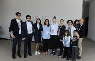 Israeli embassy reps meet with athletes within Rhythmic Gymnastics World Cup in Baku