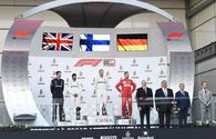 "President Ilham Aliyev awards winners of SOCAR Azerbaijan Grand Prix F1 Race <span class=""color_red"">[PHOTO/VIDEO]</span>"