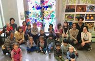 """Asmar Narimanbayova gives master class for young artists <span class=""""color_red"""">[PHOTO]</span>"""