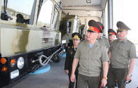 """Delegation of Belarus Armed Forces visits military unit in Azerbaijan <span class=""""color_red"""">[PHOTO]</span>"""