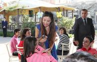 """Leyla Aliyeva visits residents of Psycho-Neurological Social Service <span class=""""color_red"""">[PHOTO]</span>"""