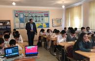 "With support of Azercell cyber security training sessions held in Sumgayit <span class=""color_red"">[PHOTO]</span>"