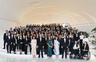 "President Ilham Aliyev, First Lady Mehriban Aliyeva attend solemn ceremony to mark 96th anniversary of national leader Heydar Aliyev and 15th anniversary of Heydar Aliyev Foundation <span class=""color_red"">[UPDATE]</span>"