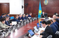 Kazakh PM announces economic growth in 1Q