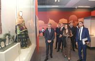 """Vice-President of Heydar Aliyev Foundation Leyla Aliyeva attends opening of Azerbaijan`s pavilion at Beijing International Horticultural Exhibition <span class=""""color_red"""">[PHOTO]</span>"""