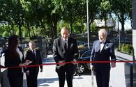 "President Aliyev attends inauguration of new building of Azerbaijani embassy in Belgium <span class=""color_red"">[PHOTO]</span>"