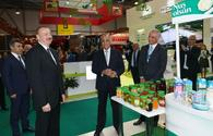 "President Aliyev views 25th Azerbaijan International Food Industry and 13th Azerbaijan International Agriculture exhibitions <span class=""color_red"">[UPDATE]</span>"