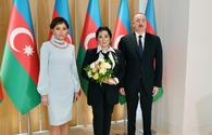 "Azerbaijani president, First Lady meet with president of Russian Rhythmic Gymnastics Federation <span class=""color_red"">[PHOTO]</span>"