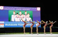 Finalists named in European Rhythmic Gymnastics Championships in group exercises with five ribbons