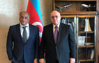 "AZAL President, Egyptian Ambassador to Azerbaijan discuss opening of new flights <span class=""color_red"">[PHOTO]</span>"